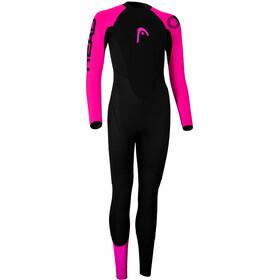 Head OW Explrr FS 3.2.2 Pianka pływacka Kobiety, black/pink
